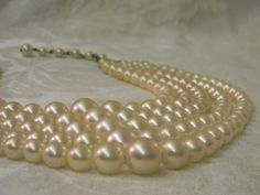 You can't go wrong with a set of vintage pearls.