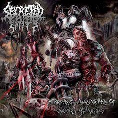 brutalgera: Secreted Entity - Horrifying Hallucinations Of Ung...
