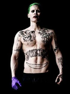 He's so fit... Omg the joker in suicide squad it's so good must see guys omf