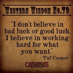Tuf knows best!