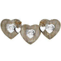 Hearts And Bows Hanging Frame | From Baytree Interiors