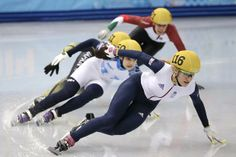 Christie won her 500 metres heat in storming style