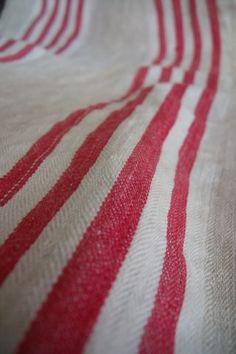 French ticking stripe