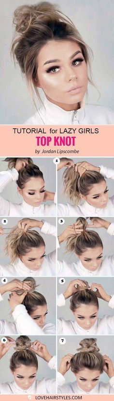 Easy hairstyles for medium hair exist lazy ladies it is time to rejoice! Ha