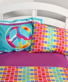Take a look at this Terrific Tie-Dye Sheet Set by One Grace Place on #zulily today!