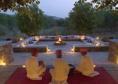 Khas Outdoor Fire Place
