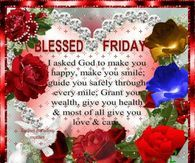 Blessed Friday God Loves Us
