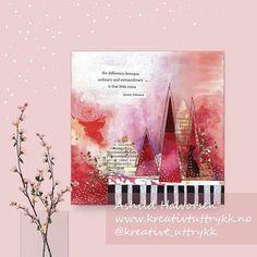 Åshild Halvorsen (@kreativt_uttrykk) • Instagram-bilder og -videoer Collage, Valentines, Book, Pretty, Painting, Inspiration, Instagram, Art, Valantine Day