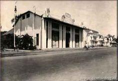 Gd Pertamina Pemuda - Indische gas maatschappij Bodjongweg -1935 Dutch East Indies, Semarang, Old City, Old Pictures, Street View, Museum, Urban, History, Gd