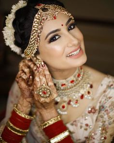 Hochzeit From Dewy to Shimmer: All Glam Bridal Makeup Trends that Ruled in 2018 Alpi , From Dewy to Shimmer: All Glam Bridal Makeup Trends that Ruled in 2018 [ From Dewy to Shimmer: All Glam Bridal Makeup Trends that Ruled in 2018 [ [ [. Indian Wedding Makeup, Best Bridal Makeup, Bridal Makeup Looks, Bride Makeup, Indian Bridal Jewelry, Bridal Jewellery, Makeup Trends, Makeup Ideas, Dewy Makeup