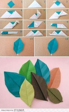 Reciclagem, Jardinagem e Decoração: Origamis