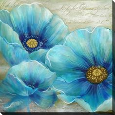 Beautiful pop of colour to match any decor. Delight your customers with this and… Wunderschöner Farbtupfer, der zu jedem Dekor. Acrylic Painting Flowers, Easy Canvas Painting, Fabric Painting, Watercolor Flowers, Canvas Art, Beginner Painting, Arte Floral, Painting Inspiration, Art Pictures