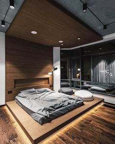 Inspiring Bedroom 👍 By Taras Kaminsky Home In 2019 Loft is part of Loft interior design - Interior Design Examples, Loft Interior Design, Luxury Bedroom Design, Bedroom Furniture Design, Home Room Design, Master Bedroom Design, Home Decor Bedroom, Bedroom Designs, Design Ideas