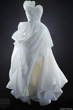 Rubin Singer - romantic ruffles - wedding gown