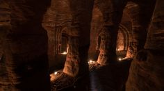 The cave, beneath a farmer's field in Shropshire, was used by the medieval religious order that fought in the Crusades and these stunning images were captured by photographer Michael Scott Michael Scott, Messy Nessy Chic, Medieval, Good Knight, Shetland, Underground World, British Countryside, Caves, Knights Templar