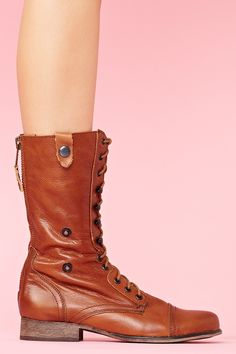 Camarro Combat Boot in Shoes Boots at Nasty Gal