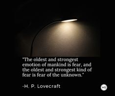10 H. Lovecraft Quotes for Writers and About Writing Hp Quotes, Fear Quotes, Writer Quotes, Sign Quotes, Book Quotes, Words Quotes, Quotes To Live By, Inspirational Quotes, Fiction Writing