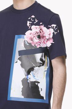 Photograph printed T shirt