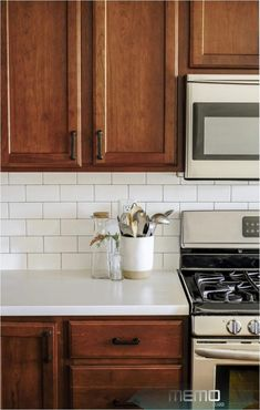 Sep 9, 2019 - This kitchen remodel is complete new appliances, countertops, subw..., #appliances #COMPLETE #countertops #Kitchen #Remodel #Sep #subw Budget Appliances, Kitchen Decor Inspiration, Kitchen Cabinets, Kitchen Remodel, New Countertops, New Kitchen Cabinets, Kitchen Renovation, Outdoor Kitchen Countertops, Kitchen Design
