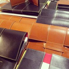 Landmarks & Lions Madison Collection - leather goods
