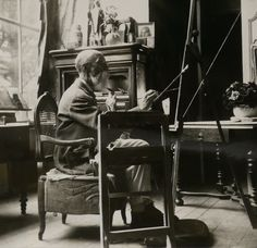 Edgard Maxence (1871-1954) French symbolist painter and portraitist | Musée de la Chartreuse,