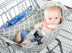 Binxy Baby - Shopping Cart Hammock. So cool!