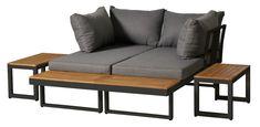 AWAY Hagegruppe | Bohus Outdoor Sofa, Outdoor Furniture, Outdoor Decor, Settee, Love Seat, Exterior, Couch, Garden, Home Decor