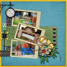 Created with All Aboard kit by Dana's Footprint Designs, Shadow Frames by Dana's Footprint Designs