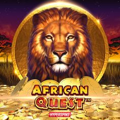 Play African Quest Online Casino Games, Slot, African, Animals, Animales, Animaux, Animal, Animais