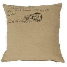 Povlak na polštář Smile be Happy Throw Pillows, Happy, Smile, Toss Pillows, Cushions, Decorative Pillows, Ser Feliz, Decor Pillows, Scatter Cushions