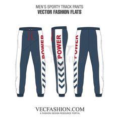 Men Vector Apparel Templates and Fashion Flats, also known as Flat Sketches. Fashion Flats, Fashion Dresses, Track Pants Mens, Big Men Fashion, Fashion Vest, Fashion Vintage, Womens Fashion, Fashion Trends, Fashion Design Template