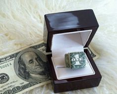 Cute idea to offer money as a gift