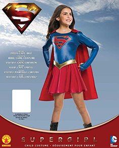 6f3bd5a3148 Amazon.com  Rubie s Costume Kids Supergirl TV Show Costume