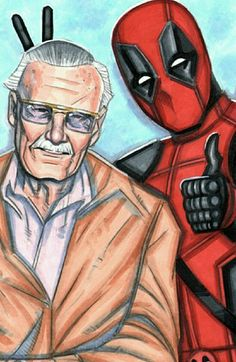 Chifrinhos no Stan Lee! ✌