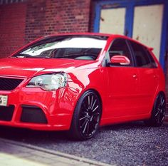 Red polo 9n3 GTI Volkswagen Polo, My Ride, Automobile, Golf, Cars, Vehicle, Inspiration, Sport Cars, Biblical Inspiration