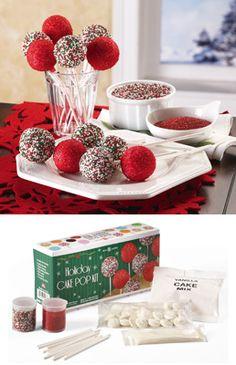 Christmas Cake Pops!