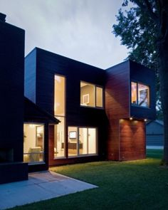 modern exterior by Hufft Projects