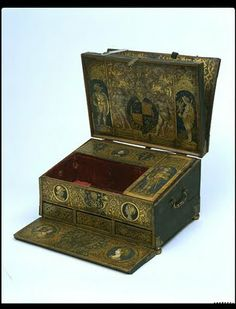 Writing Box English, 1525 Made for Henry VIII The Victoria & Albert Museum