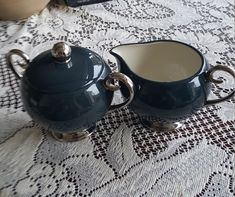 Excited to share the latest addition to my #etsy shop: FLINTRIDGE Contessa, China set, Dark Hunter Green, Creamer and Sugar Bowl, Vintage China Set, Made In USA, Platinum Trim, Classy Tea Set https://etsy.me/2G8q85z #housewares #serving #green #wedding #mothersday #sil