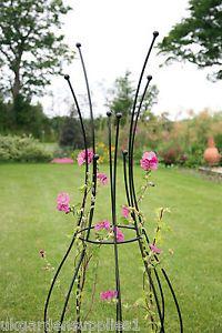 1-65m-high-Quirky-Design-Comet-Garden-Obelisk-Garden-Climbing-Plant-Obelisks Garden Whimsy, Garden Art, Garden Plants, Jardin Decor, Plant Supports, Garden Trellis, Obelisk Trellis, Diy Trellis, Garden Structures