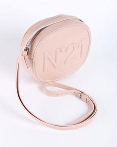Leather shoulder bag N°21