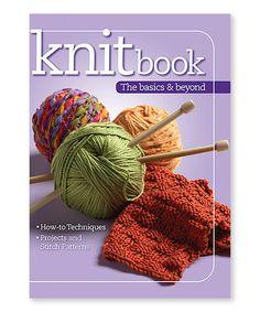 Love this Knitbook: The Basics & Beyond Paperback on #zulily! #zulilyfinds
