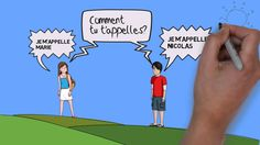 Pretty effective and cathchy song to learn French Greetings. You can also get Free resources http://www.gomaman.com/kids