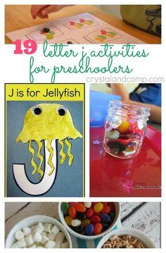 19 Letter J Activities for Preschoolers