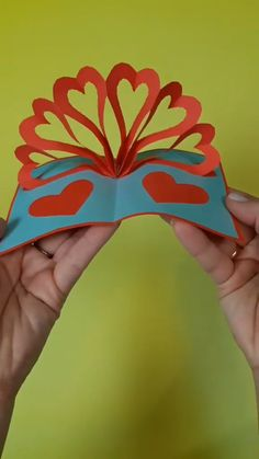 Mothers Day Crafts For Kids Discover Handmade card for Valentines day Handmade card for Valentines day Valentines Day Cards Handmade, Greeting Cards Handmade, Kids Valentines, Easy Handmade Cards, Happy Birthday Cards Handmade, Handmade Crafts, Handmade Rugs, Paper Crafts Origami, Paper Crafts For Kids