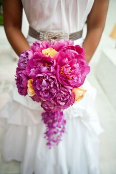 Beautiful bouquets but of course, my favorites are any of the ones with peonies!!