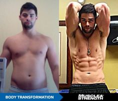 Body Transformation: Noah Ellis Gets Ripped In 10 Weeks