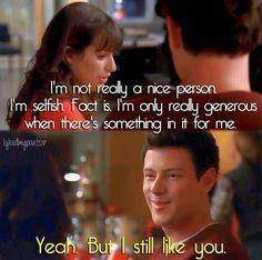 Glee - Finn & Rachel