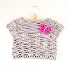 Crochet Toddler Shirt - Free pattern (ANNEMARIE'S CROCHET BLOG / HAAKBLOG)