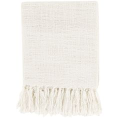Surya Tilda Ivory Throw Blanket (£26) ❤ liked on Polyvore featuring home, bed & bath, bedding, blankets, cream throw blanket, cream bedding, ivory throw blanket, cream colored bedding and beige bedding